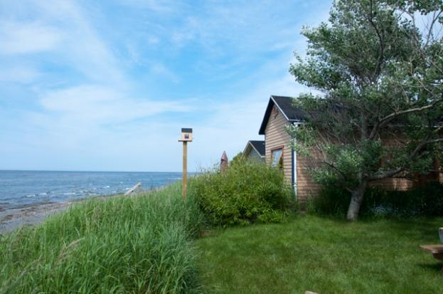 Pavillons de la mer, chalet des tournesols, Ste-Flavie